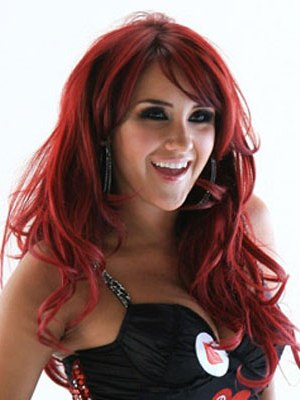 Trendy Red Highlight Hair 2011