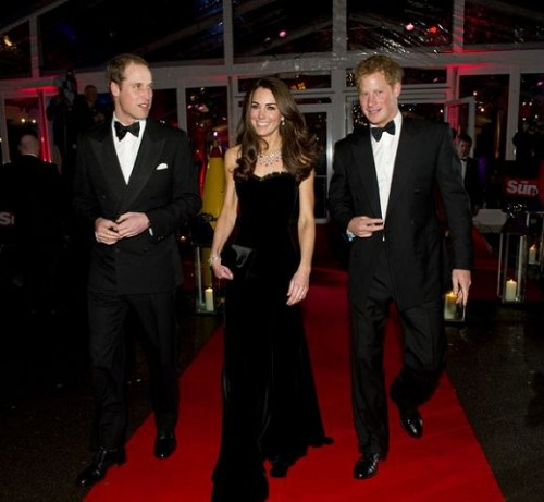 Prince-William-Kate-Middleton-and-Prince-Harry-at-The-Sun-Military-Awards