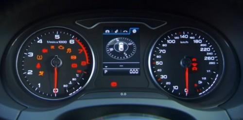 2013 Audi A3 Sportback S-line INTERIOR