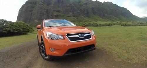 2013 Subaru XV Crosstrek exposed