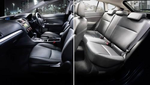Subaru XV Interior1