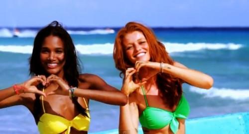 Victoria's Secret Swim 2012 l