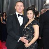 Channing Tatum and Jenna Dewan show off their baby bump at the 85th Annual Academy Awards
