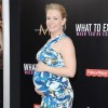 Melissa Joan Hart worked her pregnancy tummy in a daring pattern