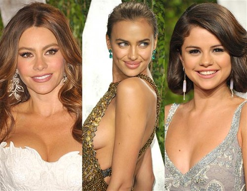Oscars The sexiest celeb cleavage