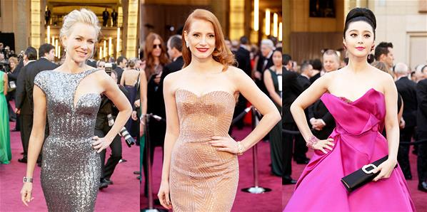 The 2013 Oscars red carpet arrivals