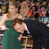 Tom Hiddleston got the giggles as he listened to Elsa Pataky's gorgeous bump