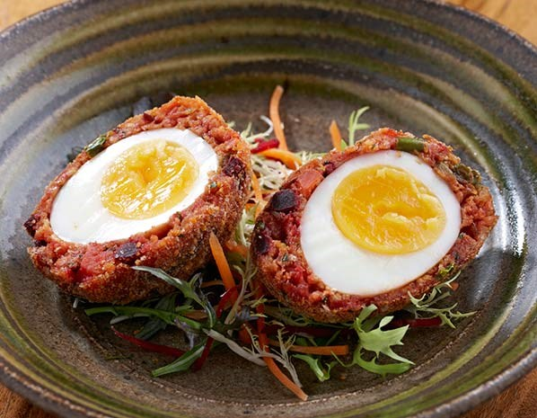 Cinnamon Soho's bangla Scotch egg