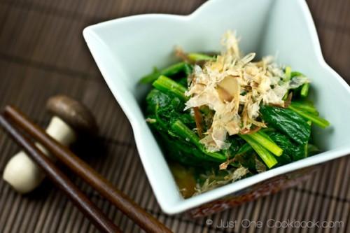 Spinach-Ohitashi