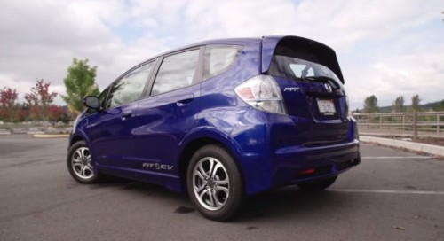 Honda Fit EV Electric Car Reviewed