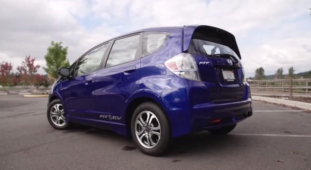 Honda fit ev electric car reviewed for Honda fit electric