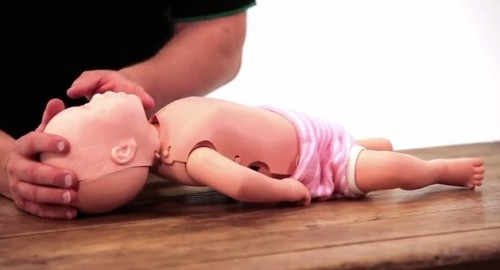 How to put a baby into the recovery position