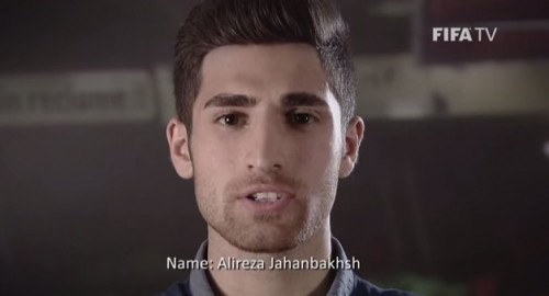 Brazil 2014 Stars to Watch Alireza Jahanbakhsh