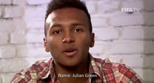 Brazil 2014 Stars to Watch Julian Green