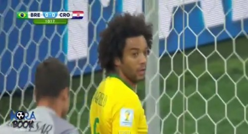 Brazil vs Croatia 3-1 2014 Marcelo Own Goal ~ Brazil vs Croatia