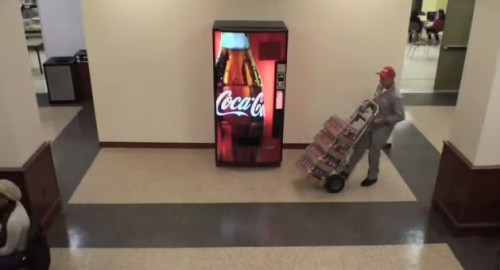 Coca-Cola Happiness Machine