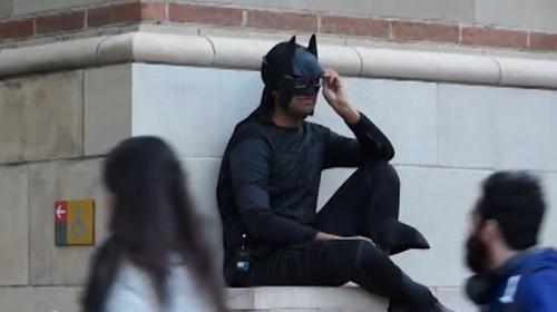 蝙蝠侠也可以把妹