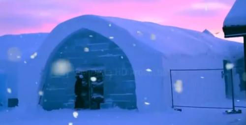 全球8大冰屋,去不到,看看也开心
