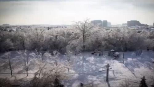 加拿大急凍天氣, 連土地都「哀哀叫」