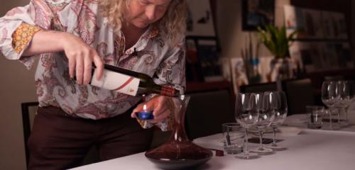 陳年葡萄酒的醒酒法