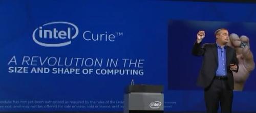 Intel布局穿戴裝置, 推鈕釦大小晶片