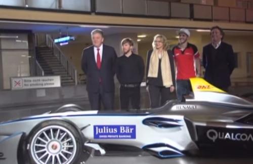 德國電動方程式賽車 柏林賽道登場