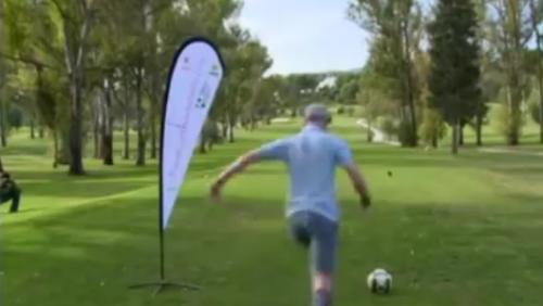 新玩法! 足球高爾夫 掀熱潮