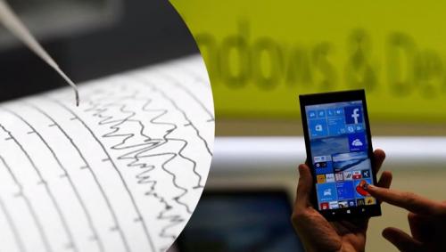 智慧型手機 可做地震預報器