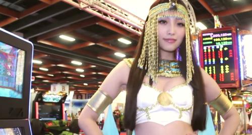 焦點正妹 - 2015台灣電子遊戲機國際產業展