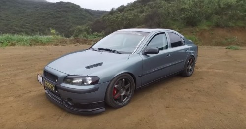 Modified Volvo S60 T5