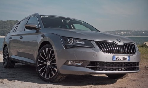 2016 Skoda Superb Wagon