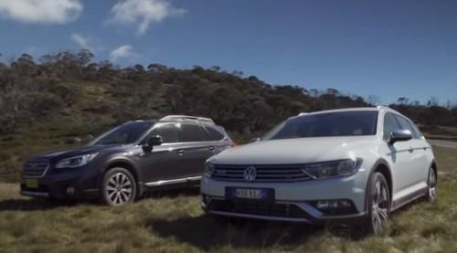 2016 Volkswagen Passat Alltrack 2.0TDI vs 2016 Subaru Outback 3.6R