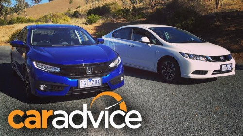 2016 Honda Civic – what has changed? Side by side with 2015 Honda Civic