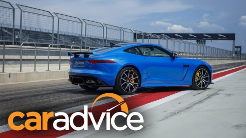 2017 Jaguar F-Type SVR — 0-100-0 Performance Test