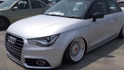 AUDI A1 modified