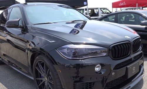 BMW X6 custom