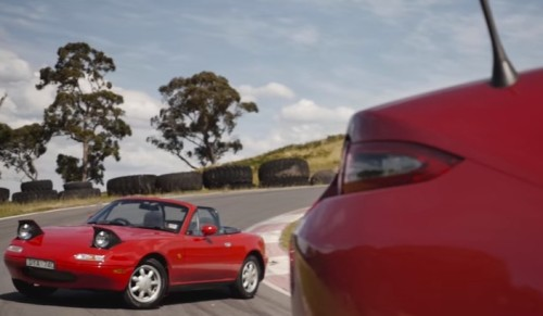 Mazda MX-5 Old vs New