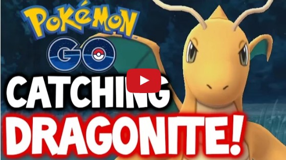 Pokemon GO - CATCHING DRAGONITE! - LEVEL 28 - RAREST POKÉMON IN POKÉMON GO! - DRAGONITE 2.7K+ CP