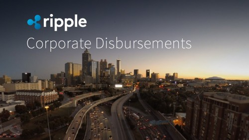 Corporate Disbursements – Ripple XRP