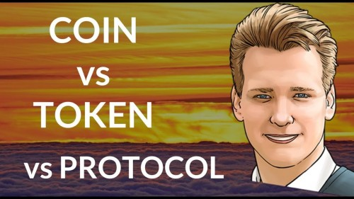 Difference between COIN, TOKEN and PROTOCOL