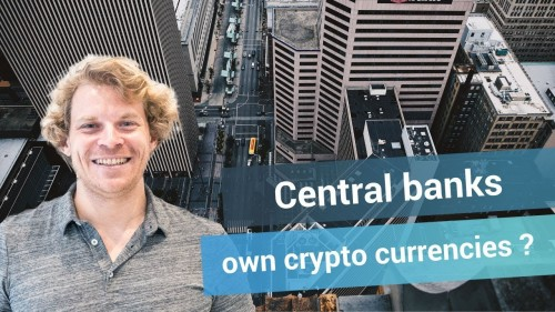 Will central banks create their own cryptocurrencies?