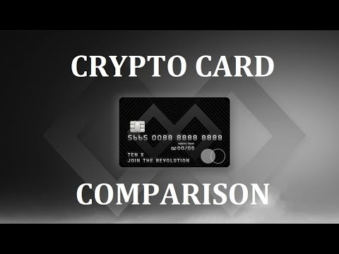 Crypto Card Comparison – CENTRA TECH, TENX, WIREX, MONACO, TOKENCARD, UQUID, XAPO, CRYPTOPAY