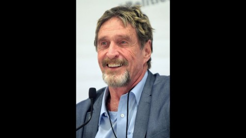 John McAfee – A bitcoin Soon will be worth $500,000 USD, and the majority can't even afford 1 BTC