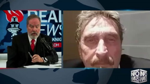 JOHN McAFEE Bank devastation is about to start