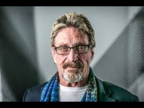 John McAfee Cryptos destroy banks in 2018