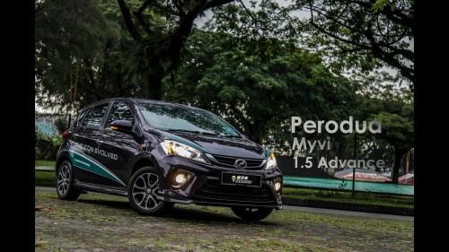 车库试驾 – Perodua Myvi 2018 – 1.5 Advance