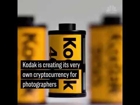 130-year-old Kodak is creating its own cryptocurrency for photographers called 'KodakCoin'