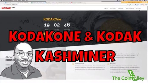 Kodak Announces it's own Cryptocurrency KodakOne + Kodak KashMiner Bitcoin Mining Rig