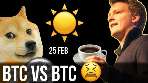 Bitcoin vs Bitcoin, Pump and Dump, No Crypto for Musk, Russia New Crypto Hub?