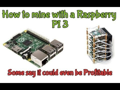 How to mine with a Raspberry Pi3 – Dash / Verium / Raven